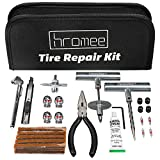 Hromee 52 Pieces Tire Repair Tools Kit for Car, Trucks, Motorcycle, ATV, RV