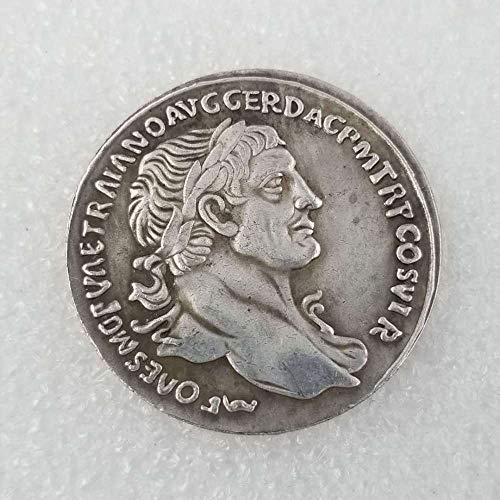 Chaenyu Antike römische Gedenkmünze Silberdollar Antike Ornament Sammlung Münze