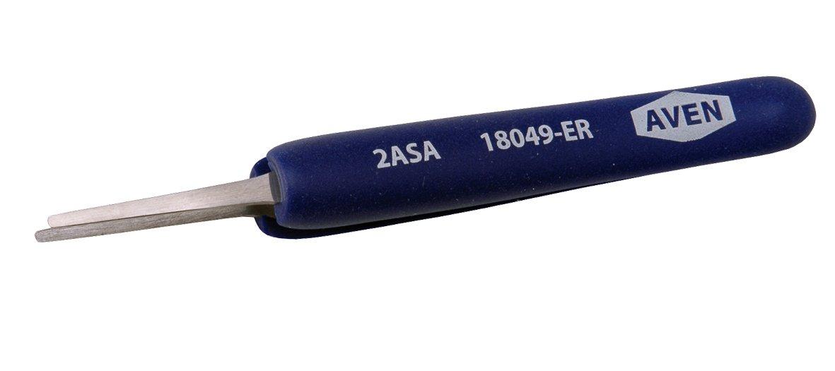 online shop Aven 18049-ER Pattern 2A Comfort Precision Grip Philadelphia Mall Stainle Tweezer