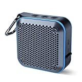 Portable Waterproof Bluetooth Speaker with FM Radio, IPX7 Waterproof Speaker Bluetooth Wir...