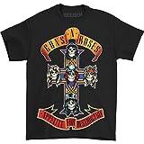 Guns N' Roses Appetite For Destruction Cross Black T-Shirt Black XX-Large
