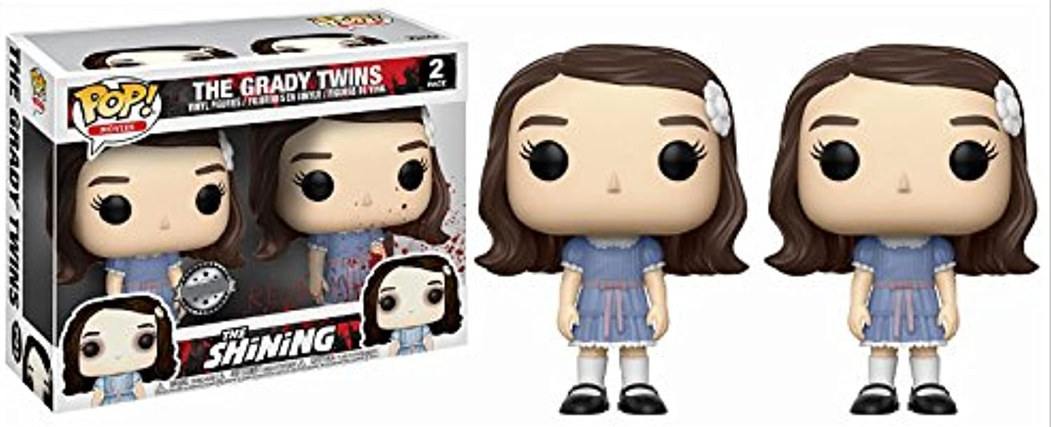FunKo – The Shining Pop Vinyl Figure 2 Pack Luke Twins – Limited Edition, 9 cm, 20939 B075DHP8P5 Kompletter Spezifikationsbereich  | Online Outlet Store