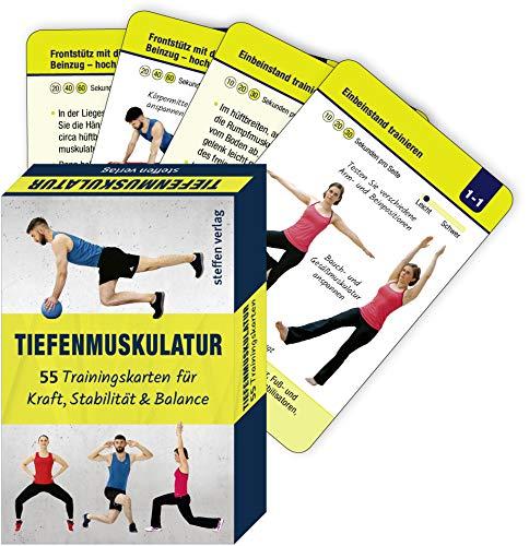 Tiefenmuskulatur: 55 Trainingskarten für Kraft, Stabilität & Balance (Trainingsreihe von Ronald Thomschke)