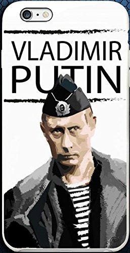 Funda para teléfono móvil rusa Putin compatible con Samsung Galaxy S5 Mini, Putin Matrose, carcasa protectora transparente alrededor de la protección dibujos animados M3