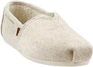 TOMS Women's Classic Heavy Felt Faux Shearling Ankle-High Fur Slip-On Shoes
