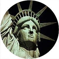 スリップマットスリップマットスクラッチパッドは、任意の十二インチのビニールターンテーブルレコードプレーヤーのカスタムグラフィカルのために感じた - Liberty 2