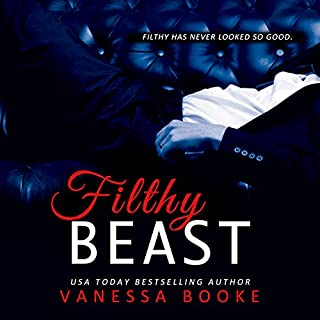 Filthy Beast audiobook cover art