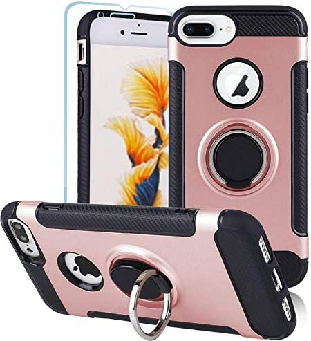 Folmeikat Compatible with iPhone 8 Plus iPhone 7 Plus iPhone 6s Plus 6 Plus Phone Case Screen product image