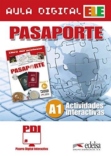 Pasaporte 1 (A1) - PDI aula digital - actividades interactivas: Pizarra Digital Interactiva (Interactive activities for the IWB) (Métodos - Jóvenes y adultos - Pasaporte - Nivel A1)