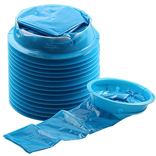 Emesis Bag, YGDZ 15 Pack Barf Bags Vomit Bags Disposable Car Puke Nausea Bags for Travel Motion, 1000ml