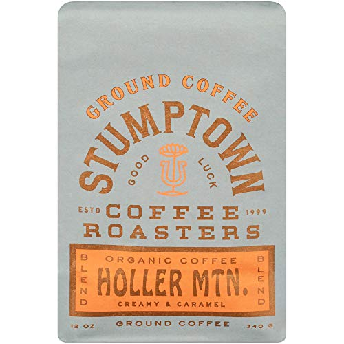 Stumptown Coffee Roasters Ground Organic Coffee, Flavor Notes Of Creamy Caramel, Holler Mountain, 12 oz