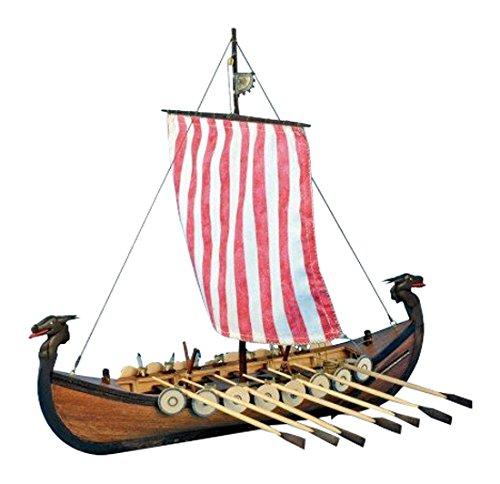 Artesanía Latina 19001N. Maqueta de barco en madera Viking