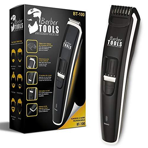 Tondeuse à barbe BT-100 Pro - Tondeuse à barbe professionnelle spécialement...