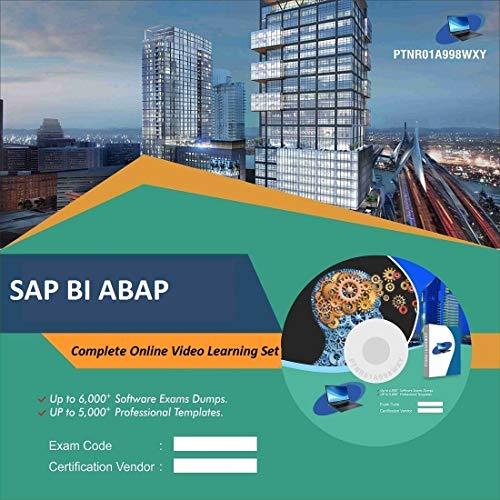 SAP BI ABAP Complete Video Learning Solution Set (DVD)