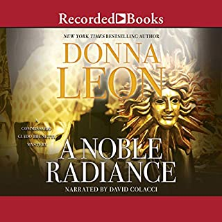 A Noble Radiance audiobook cover art