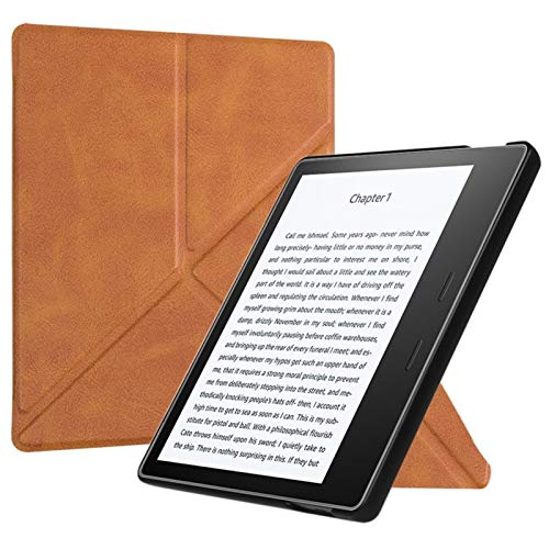BINMIHU Funda Universal Compatible con Ereader, Y Necesidad de nuevos Kindle Oasis (9 y 10 de Generación, 2017-2019 Release) - Slim Fit con la Cubierta del Soporte de Reposo automático de Despertador