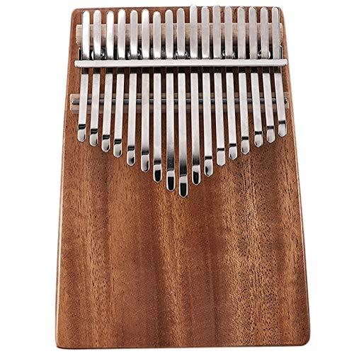 SFFSM 17 Claves Kalimba Caoba Pulgar Piano Instrumento Musical con la Bolsa...