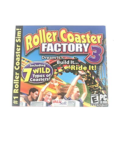 Roller Coaster Factory 3 (PC)