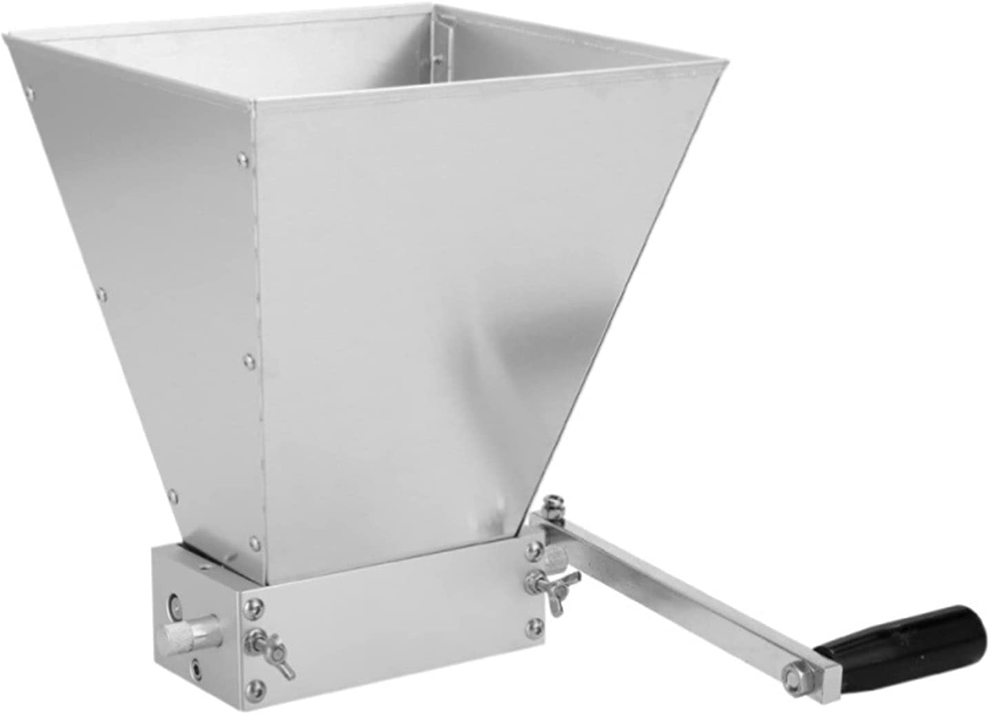 Stainless Steel 2-roller Barley Malt 5 ☆ Sales of SALE items from new works popular Grinder Grain Mill Crusher