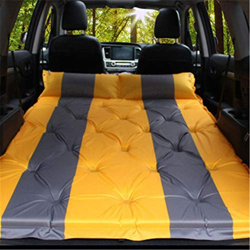 Back Seat Inflatable Bed Automatic Inflatable Mattress Car Bed SUV Car Travel Bed Car Inflatable Mattress Trunk Sleeping Pad Car Air Bed Outdoor Camping Universal ( Color : C1 , Size : 188x130cm )