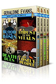 RAFFERTY & LLEWELLYN BOXED SET Books 9 - 12: British Detectives by [Geraldine Evans]