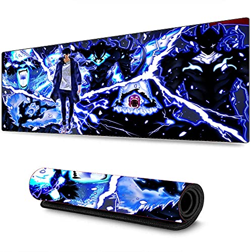 Jujutsu Kaisen Anime Gaming Alfombrilla de Ratón Grande Alfombrilla de Teclado de Computadora Accesorios de Pc Juegos Alfombrilla de Escritorio Pc Portátil XXL 700X300X3 mm