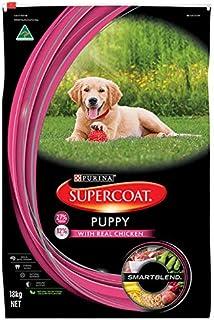 Supercoat Puppy Real Chicken Dog Food 18 kg 1 Pack Medium