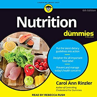Nutrition for Dummies audiobook cover art