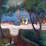 Art-Galerie Digitaldruck/Poster Edvard Munch - Tanz am