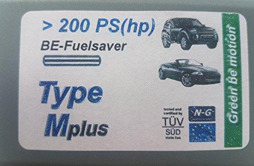 Preisvergleich Produktbild BE-Fuelsaver® Mplus - Benzin + Diesel Einsparungen für Pkw ab 200-350 PS,  Treibstoffersparnis zwischen 6% - 20% - Treibstoff sparen - Feinstaub senken