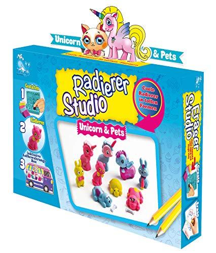 Beluga Spielwaren 50707 Radiergummi selber Machen Eraser Studio Unicorn Pets 50707-Eraser Unicorn & Pets, bunt