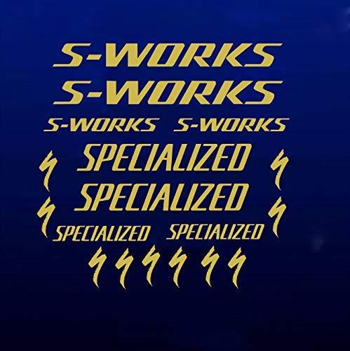 Nuevas pegatinas de marco de bicicleta S-Works se especializan en bicicleta de...