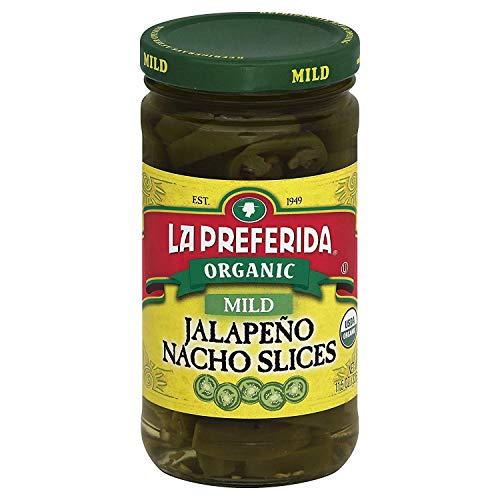 La Preferida Organic Jalapeno Nacho Slices, Mild, 11.5 oz (Pack - 2)