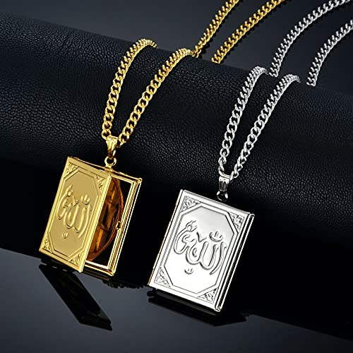 MTTN Floating Locket Charms Islamic Co Gold Beauty products Popular shop is the lowest price challenge Jewelry Islam Choker
