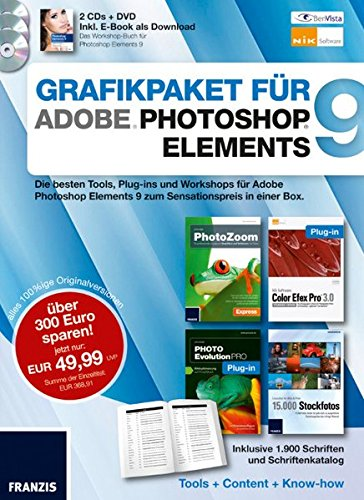 Grafikpaket für Photoshop Elements 9