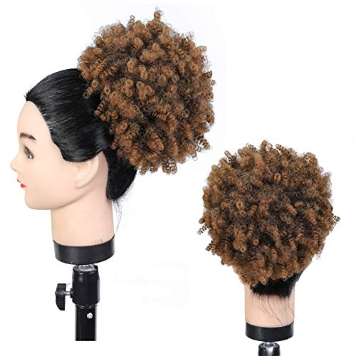 Junbeauty-Synthetic Afro Puff Ponytail Extensions for Black Women