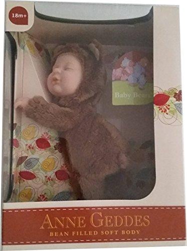 Anne Geddes Baby Brown Bear Doll / Bebe Oso Marron