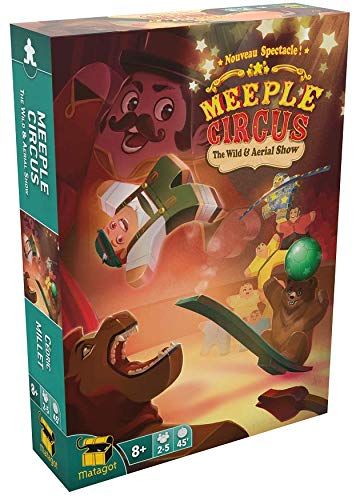 Meeple Circus Extension 1 - English Version