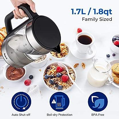 Bextcok-Wasserkocher-mit-Temperatureinstellung-17L-Glaswasserkocher-mit-LED-Beleuchtung-2200W-Schnellkochender-Glas-Teekessel-Temperatur-Einstellbar-mit-Warmhaltefunktion-BPA-frei-Trockengehschutz