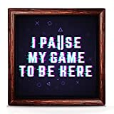 Balio Gamer Gifts | Unique Gamer Gifts for Men and Women | Ideal for A Gamer | Gamer Room Decor | Gamer Gift Ideas for Husband and Boyfriend | 7x7 Funny Gamer Decor for Boys and Girls