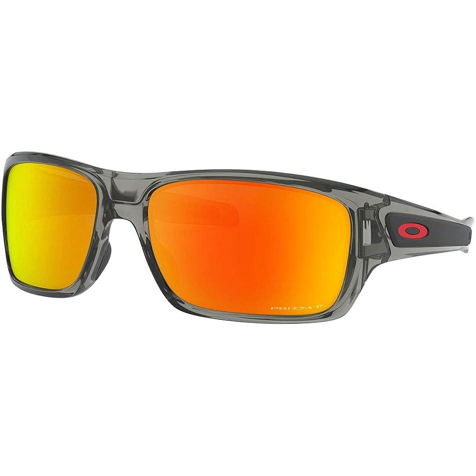 Oakley Men's Turbine Polarized Rectangular Sunglasses