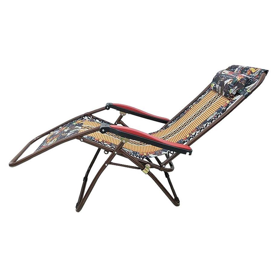 戦う世界記録のギネスブック構築するNZNB 折りたたみランチ休憩昼寝椅子うそ暗号化クッションラウンジチェア多機能ランチ休憩ロープ車のクッションリクライニングチェア - 0152