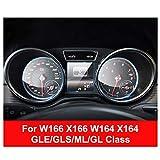 FANGPAN Auto Instrumententafel Displayschutzfolie, für Mercedes W204 W205 W246 W176 X253 W117 W166 W164 ABCES Klasse GLA GLC GLE CLA