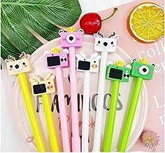 Rudraksh Birthay Return gifts for kids party cute fancy camera shape gel pens for children gifts for boys, multicolor - se...