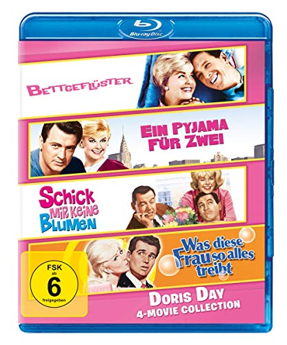 Doris Day - 4-Movie Collection [Blu-ray]