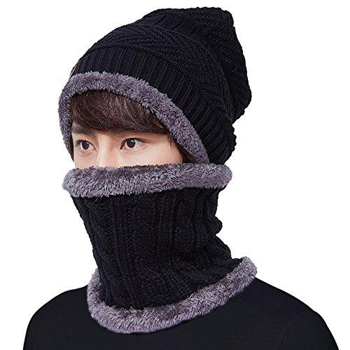 Limirror -  Berretto in maglia  - Uomo, Uomo, nero, L