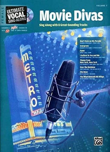 Ultimate Sing-Along Female Voice Movie Divas (Book & Karaoke CD) (Ultimate Vocal Sing-Along)