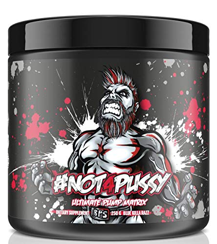 BPSPharma #Not4Pussy Ultimate Pump Matrix Pumpbooster Pre-Workout Booster Bodybuilding 250g (Peached Ice Tea)