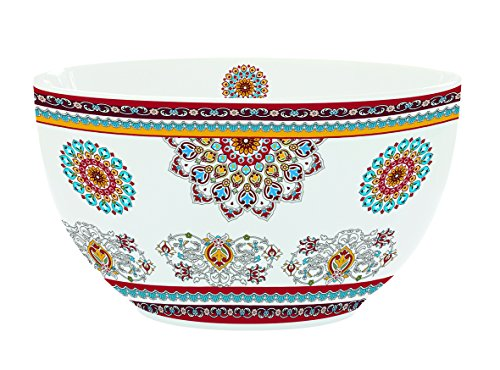 R2S Bohemian Ciotola in Ceramica, 12 X 12 X 13 cm