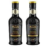 Mazzetti Vinagre balsámico de Módena, etiqueta negra (2 x 250 ml)